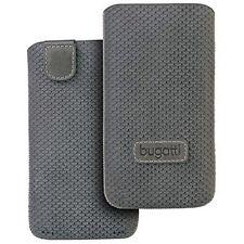 Bugatti Perfect Scale stone grey Tasche f HTC Desire X Case Etui Hülle