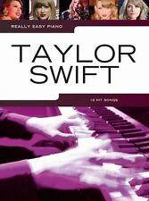 Really Easy Piano Taylor Swift Country POP Love Story RED Beginner Music Book