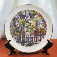 """CHICAGO CITY OF NEIGHBORHOODS"" PLATE COLLECTION by FRANKLIN McMAHON- 1980"