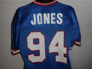 Vintage Champion #94 Cedric Jones New York Giants Jersey 40