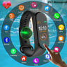 M5 Smart Watch Bracelet Heart Rate BP Sports FIT#BIT Tracker M4+ Ftiness Tracker