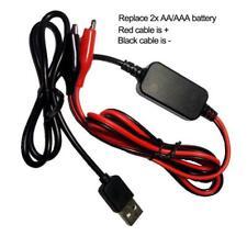 USB 5V to 3V Step-down Cable Voltage Converter Line For Clocks Player Calculator