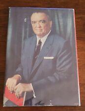 J. EDGAR HOOVER SIGNED BOOK FBI DIRECTOR COMMUNISM AUTOGRAPH H/C W/ DJ