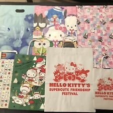 28 Sanrio Hello Kitty Store Shopping Bags Mixed LOT