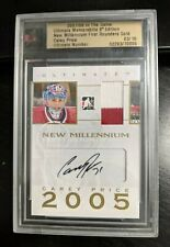 2007-08 Ultimate Memorabilia First Rounders Gold Carey Price Rookie Auto #3/10
