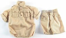 1/6 Military Tropical Khaki Drill Uniform Shirt Shorts Burma Indochina Pacific