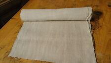 Homespun Linen Hemp/Flax Yardage 7 Yards x 17'' Plain  #4718