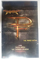Music Poster Promo DragonForce ~ The Power Within - DS Double Sided