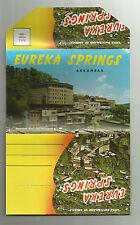 Old Postcard Folder Eureka Springs Arkansas Little Switzerland of America