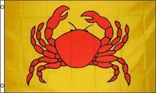 Crab Flag 3x5 ft Seafood Cafe Restaurant Advertising Sign Alaskan King Crab Legs
