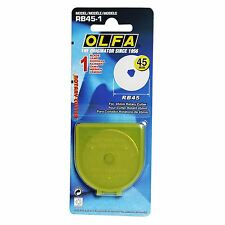 Olfa 45mm Rotary Cutter Replacement Blade x1 Quilting Patchwork Sewing