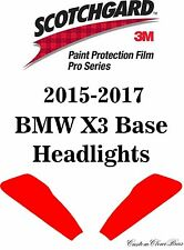 3M Scotchgard Paint Protection Film Pro Series Kit  2015 2016 2017 BMW X3 Base