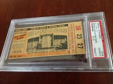 PSA 1958 ALL STAR TICKET BALTIMORE ORIOLES