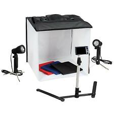 PowerPak Portable Photography Diffusion Box with two lights 40x40x40cm (58017)