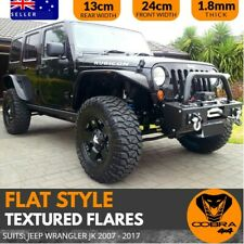 Flat Style Textured Flares Suits JEEP Wrangler JK 2007-2017