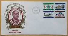 SAINT LUCIA Official First Day Cover★Independence 1979★Sehr selten★RaRe