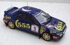 TROFEU 610 Subaru Impreza die cast model 4x4 turbo 555 livery Sainz  L Moya 1:43
