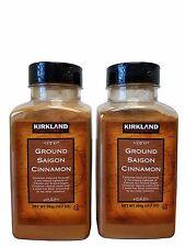 2 Pack Kirkland Signature Ground Saigon Cinnamon 10.7 oz Each