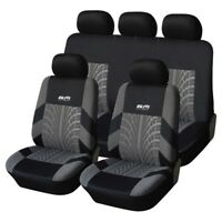 Car Seat cover Car Front + Rear Accessories Car Seat Cover Gray
