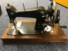 Harris Vintage Foreign Sewing Machine (untested, for parts, home decor)