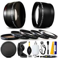 10 Piece Ultimate Lens kit for Canon PowerShot G7 G9 Digital Camera