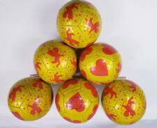 MINI SOCCER BALL, LOVE CUPID BALL PRINTING, SIZE 2, 21 INCHES, ( lot of 6 )