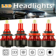4X H11+9005/HB3 Canbus LED CSP Headlight Kit Bulbs For Toyota Prius C 2014-2012