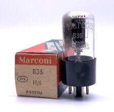 Rare Marconi 12SN7GT B36 Valve/Tube New Old Stock (V16)
