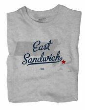 East Sandwich Massachusetts MA Mass T-Shirt MAP