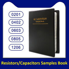 0201/0402/0603/0805/1206 SMD/SMT Resistors/Capacitors Samples Book Assorted Kit