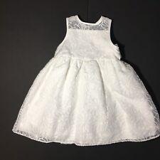Mia & Mimi Target 2 Pc White Dress 18M Toddler Fancy Dress Easter New (E44)