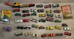 Lot Of 43 Matchbox Cars Various Conditions