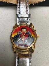 Betty Boop Ladies Womens Watch With Wooden Box