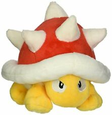 """Little Buddy USA Super Mario All Star Collection Spiny Stuffed Plush, 4.5"""""""