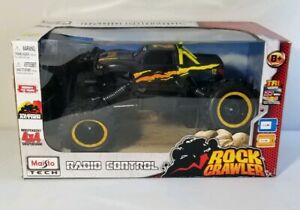 Maisto Rock Crawler Radio Remote Control RC Climber Monster Truck 4x4 Toy New