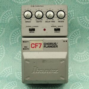 Ibanez CF7 Chorus / Flanger Tone Lok Guitar Effect Pedal 05390380