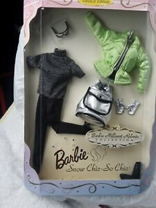 New BARBIE MILLICENT ROBERTS COLLECTION Ltd Ed Snow Chic So Chic Ski Outfit