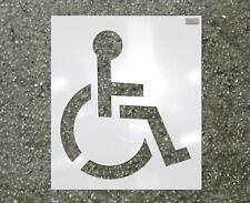 "Ch Hanson 70343 39"" Handicap Logo Ldpe Reuseable Stencil"