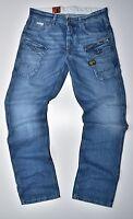 G-STAR RAW - Nattacc Straight Herren Jeans Medium Aged - W33 L34 Neu !!!