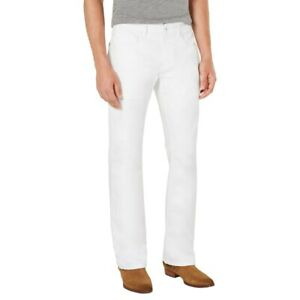 White Bootcut Low 6 5 8 5 In Rise Jeans For Men For Sale Ebay