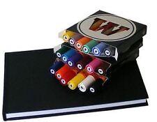 Molotow ONE4ALL 227HS-conjuntos de cortos + Stylefile Marcadores De Pintura Blackbook-A5 + Pad