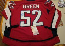 MIKE GREEN signed custom CAPITALS jersey JSA COA SIZE L 07dab7b88ac7