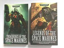 SPACE MARINES - Legends of / Treacheries - Christian Dunn (Paperback) WARHAMMER