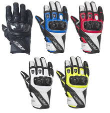 Rst Stunt III 3 CE approved Short motorcycle motorbike leather Race gloves