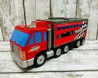 Micro Machines Grand Prix Racing Truck Nascar Track Vintage Playset Hasbro 1999
