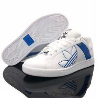 NEW Adidas Bankment Evolution Padded Skate Shoes G04931 Blue White Men's Size 12