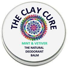 El Bálsamo Desodorante Natural-Mint & Vetiver - 60g de la arcilla cura Co.