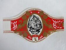 More details for rare large king kong cigar band vintage