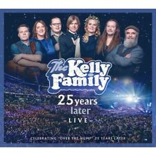 THE KELLY FAMILY - 25 YEARS LATER-LIVE (DELUXE EDITION)  3 CD+DVD NEU
