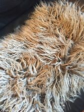 New-Caramel Crunch Mongolian Shag Fur Mat-Newborn Photo Prop-Best Seller